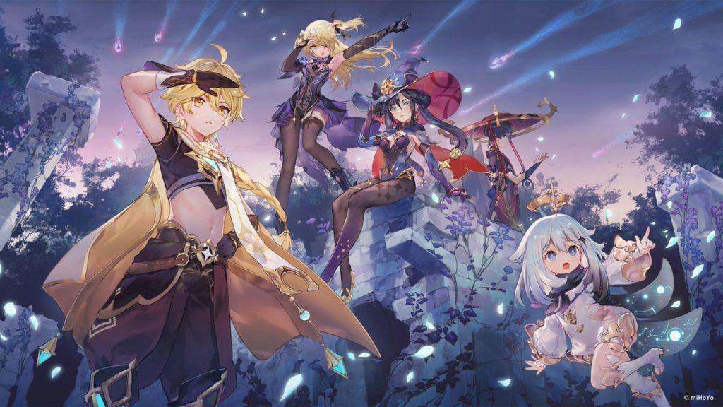Новичку про Двуручные мечи в Genshin Impact
