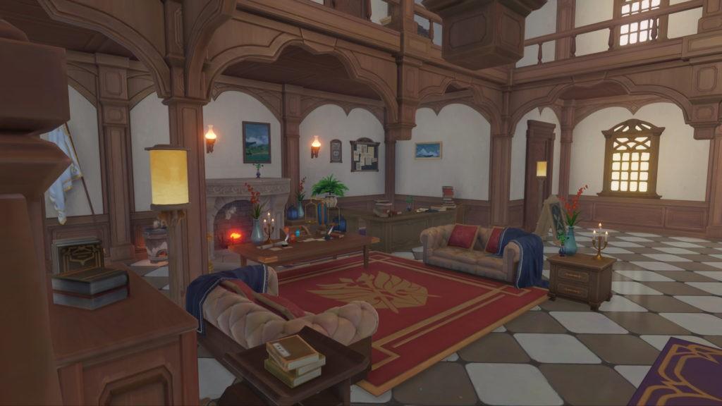 Торговцы схем мебели в Genshin Impact