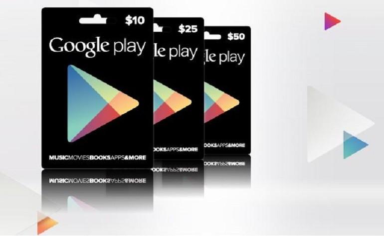 Подарочные карты Google Play в Genshin Impact